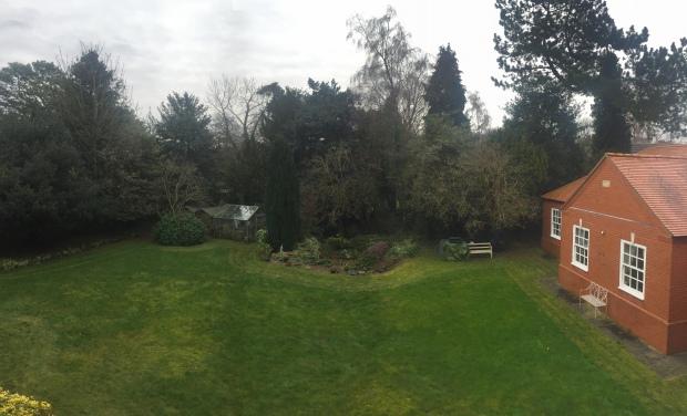 the garden canwick house